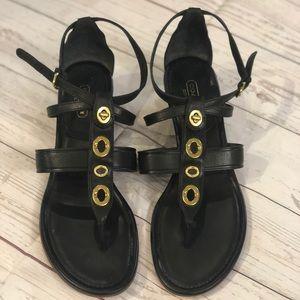 Coach leather sandal